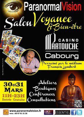 Paranormalvision cabourg edition 2013 guide de la for Salon voyance 2017