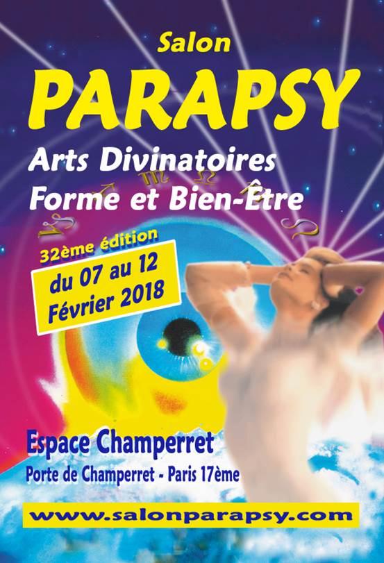d82801698045bc Parapsy, vous invite à entrer dans le monde des arts divinatoires et du  bien-être, du 7 au 12 février 2018, Espace Champerret, à Paris.